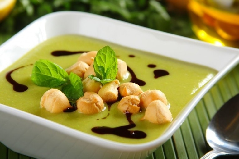 Zupa krem z zielonego groszku - VIDEO