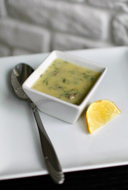Zupa krem z ziemniaków z sercami drobiowymi