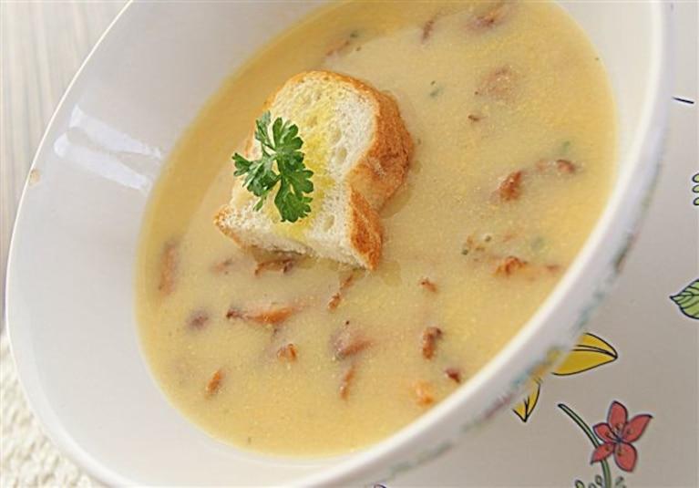 Zupa kurkowa na rauszu