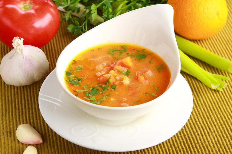 Zupa Pomidorowa Z Nuta Pomaranczy Przepis Zobacz Na Przepisy Pl