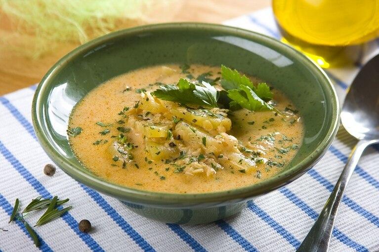 Zupa porowo-soczewicowa