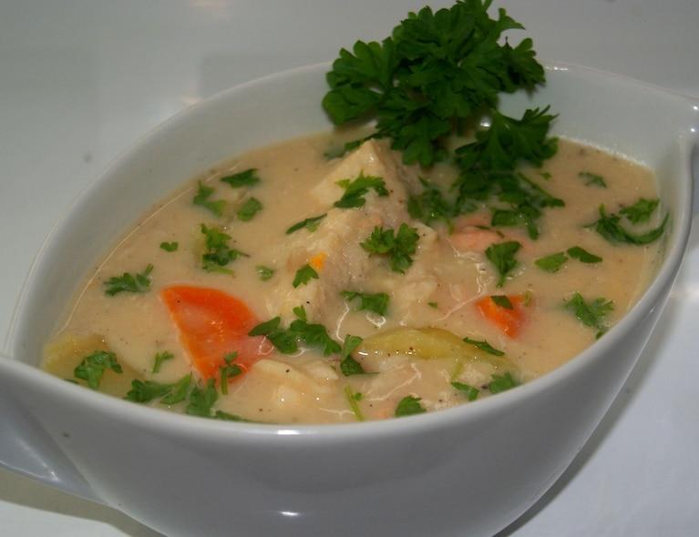 Zupa rybna na szczupaku