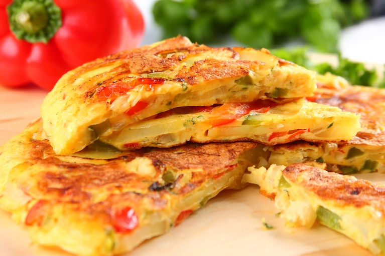 Tortilla z papryką - VIDEO
