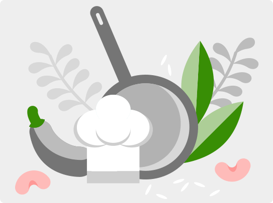 Indyjskie placuszki dosa z warzywami i humusem - zdjęcie użytkownika - zdjęcie numer 3