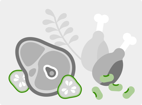 Sałatka z buraczka liściastego z szynką i ogórkiem  - zdjęcie użytkownika - zdjęcie numer 4